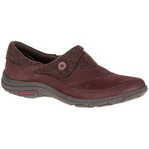 MERRELL shoes 10 dassie fold moc moccasin Slip on